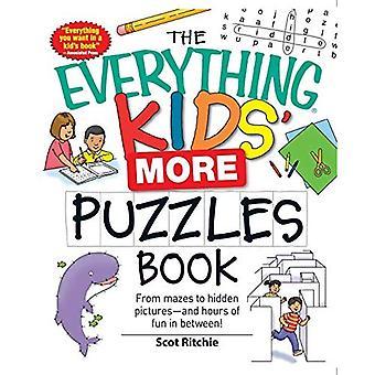 The Everything Kids' More Puzzles Book: From Mazes to Hidden Pictures - And Hours of Fun in Between (Everything