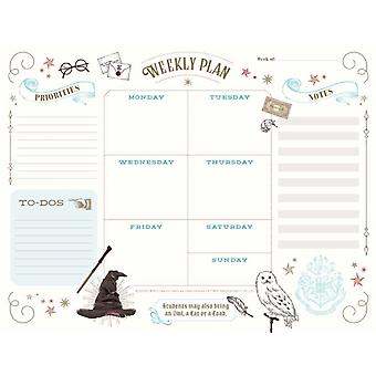 Harry Potter Weekly Planner Notepad by Insight Editions