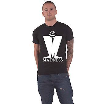 Madness T Shirt Big M Band Logo new Official Mens Black