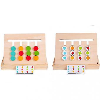 Giocattoli puzzle classificazione in legno