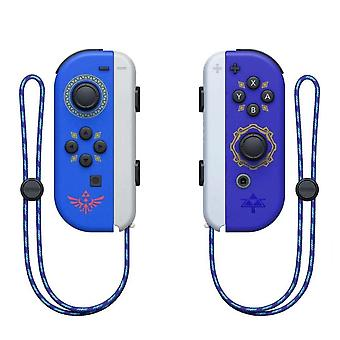 Portable Wireless Bluetooth Joy-con L/r Controller Compatible With Nintendo Switch-zel Blue