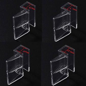 Suport de prindere pentru acoperirea acvariului, B ușor și durabil (pachet de 8)