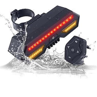 Indicateur de led laser arrière de queue de bicyclette