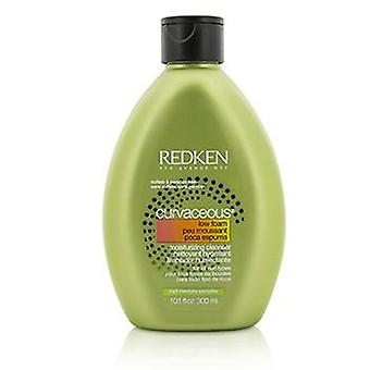 Redken Curvaceous Low Foam Moisturizing Cleanser (for All Curls Types) - 300ml/10.1oz