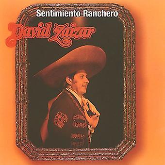 David Zaizar - Sentimiento Ranchero [CD] USA import