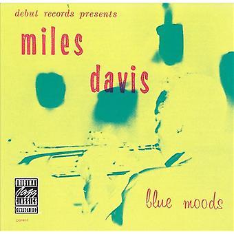 Miles Davis - blå stämningar [Vinyl] USA import