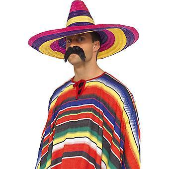 Sombrero mare, multi-colorate