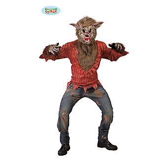 Varulv Halloween kostyme stygge ulven kostyme mens en størrelse