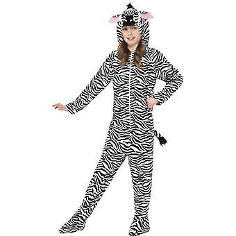 Zebra Kinder Kostüm