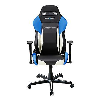 DX Racer DXRacer Drifting Series OH/DM61/NWB High-Back Desk Chair Boss Office Chair PU Chair(Blue)