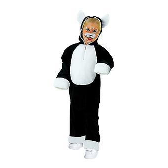 Kat kostuum kinderen kostuum Kitty 2 delig