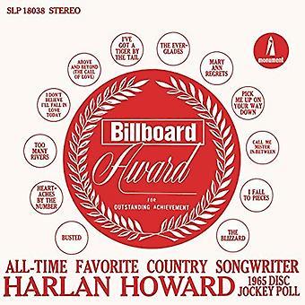 Harlan Howard - Favorite Country Songwriter [CD] USA import