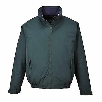 RSU - Moray in pile foderato in stile contemporaneo di resistente alle intemperie Bomber Jacket