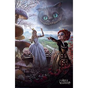 Disney Alicia en el país de las maravillas Poster Poster Print