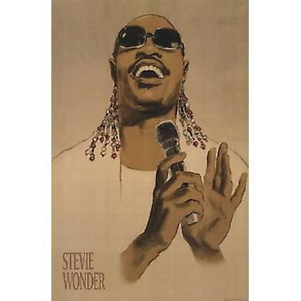 Stevie Wonder Juliste Tulosta Clifford Faust (12 x 18)