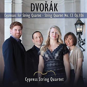 A. Dvorak - Dvor K: Cypresses for String Quartet; String Quartet No. 13 [CD] USA import