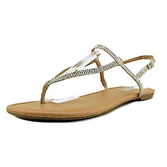 INC International Concepts Womens Macawi2 Stoff Split Toe Casual T-Strap Sandalen