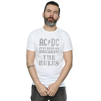 AC/DC Men's Just Keep On Breaking The Rules T-Shirt