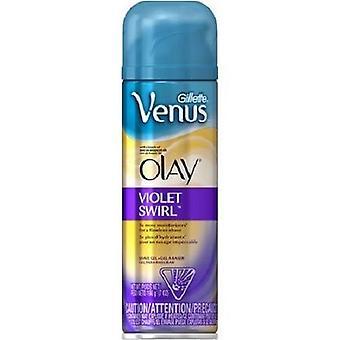 Gillette Venus Olay фиолетовый вихрем бритья гель