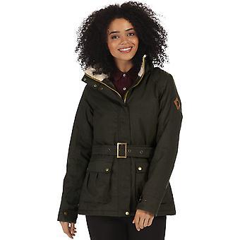 Regata das mulheres/senhoras izaias impermeável Thermoguard andando jaqueta