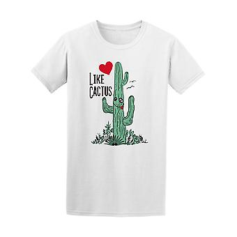 Like Cactus Graphic Tee Men's -Image by Shutterstock