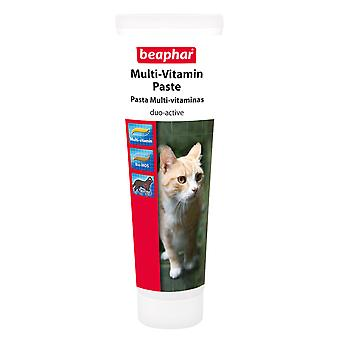 BEAPHAR CAT MULTI-VITAMIN PASTE DUO-ACTIVE 100G VITAMINS AND MINERALS FOR CAT
