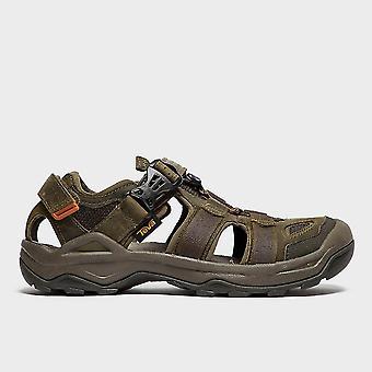 New Teva Men's Omnium 2 Leather Sandal Olive