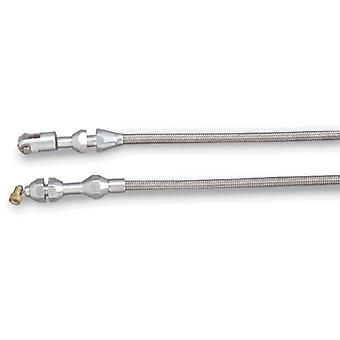Lokar TCP-1000TP Polished Throttle Cable for Tuned-Port