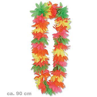 Collier de fleurs hawaïen Lei Luau partie Aloha Hula