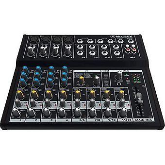 Mackie MIX12FX Mixing console nr. kanalen: 12