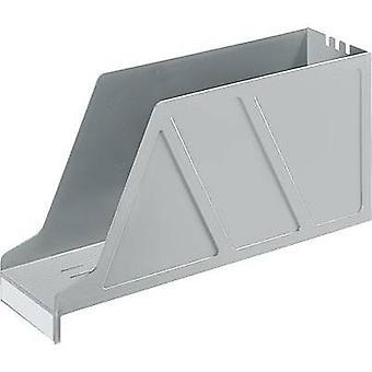 Leitz 2427 24270085 Magazine bestand A4 liggend grijs polystyreen 1 PC (s)