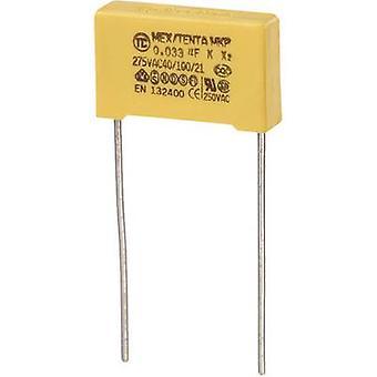 MKP-X2 1 PC('s) MKP-X2 onderdrukking condensator radiaal leiden 0.033 µF 275 V AC 10% 15 mm (L x W x H) 18 x 5 x 11 mm