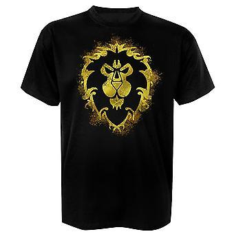 Mondo di Warcraft t-shirt Alliance