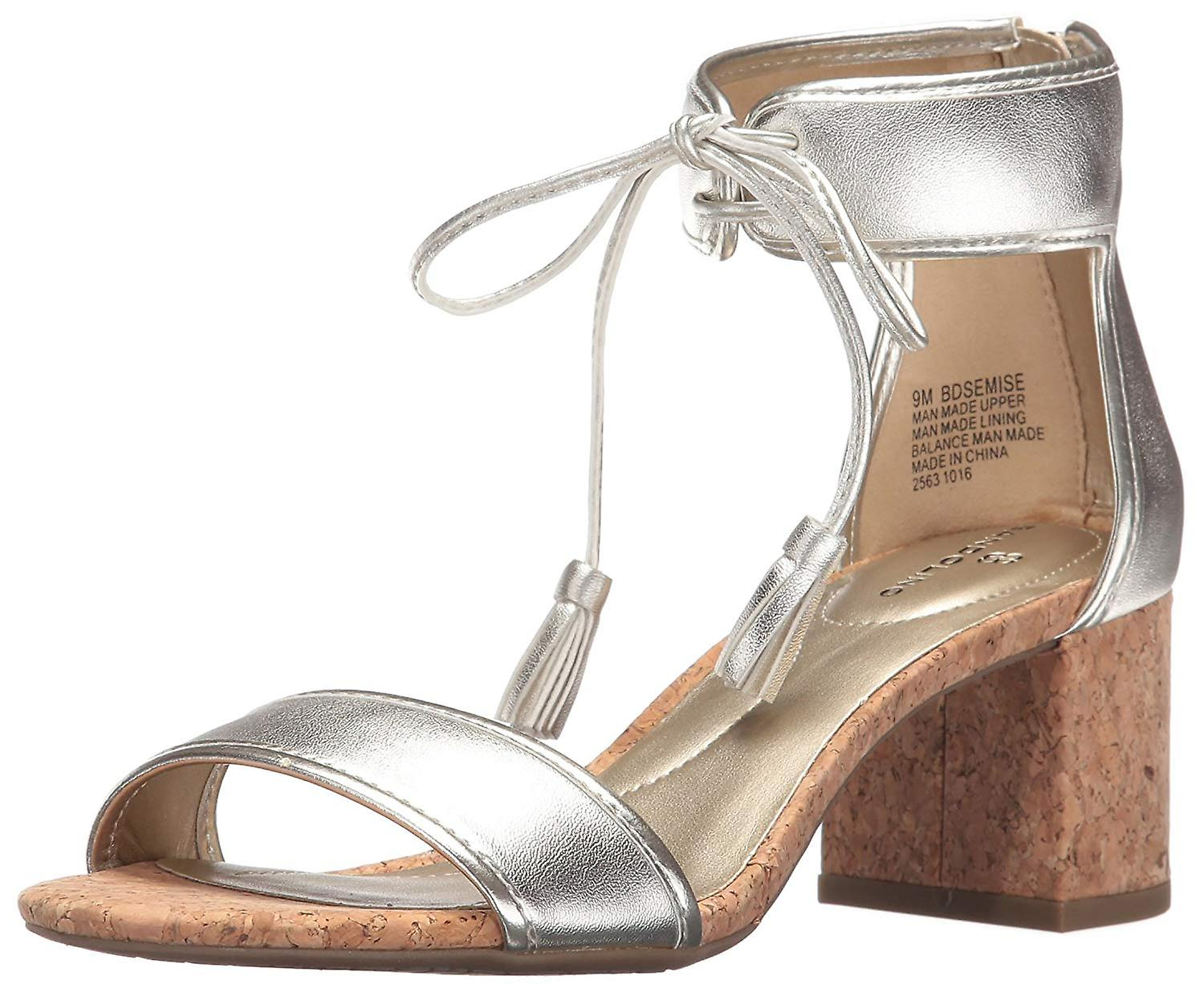 Bandolino Womens Semise Open Toe Occasionnels Ankle Strap Sandals