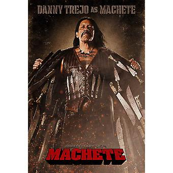 Machete Movie Poster (27 x 40)