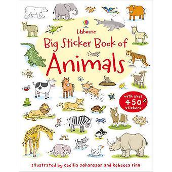 Big Sticker Book of Animals by Jessica Greenwell - Sam Taplin - Cecil