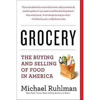 Päivittäistavarakauppa - osto ja myynti elintarvikkeiden Amerikassa Michael näyttelijöille omistettu