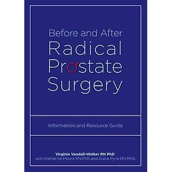 Before and After Radical Prostate Surgery - Information and Resource G