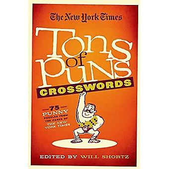 New York Times tonnia sanaleikkejä ristisanatehtäviä: 75 Punny palapelit sivut New York Times