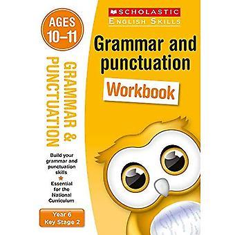 Grammatica en interpunctie jaar 6 werkmap (scholastische Engels vaardigheden)