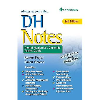 Dh Notes: Dental Hygienist's Chairside Pocket� Guide
