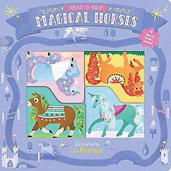 Les & Ride: Magiske hester: 4 bord bøker inne! [Brettet boken]