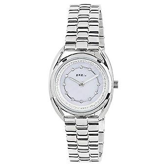 ברז קוורץ נשים שעון אנלוגי עם חגורת נירוסטה TW1650