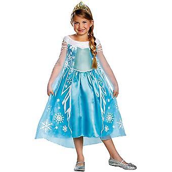 エルザ冷凍子供用コスプレ衣装