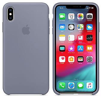 iPhone XS Max - ラベンダーグレー用オリジナルパッケージMTFH2ZM/Aアップルシリコーンマイクロファイバーカバーケース