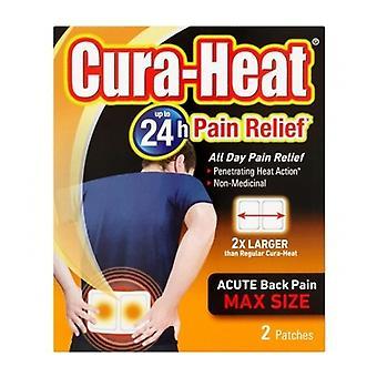 Cura-calor detrás del dolor 2Sachet tamaño máximo