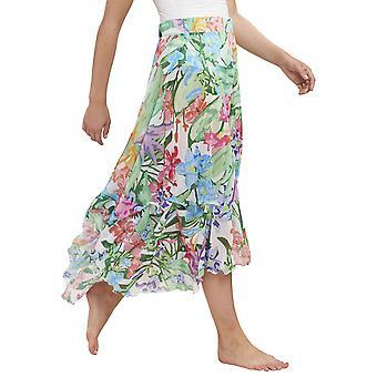 Féraud 3195116-16363 Women's Beach Flowers Meerkleurige Bloemen strandrok