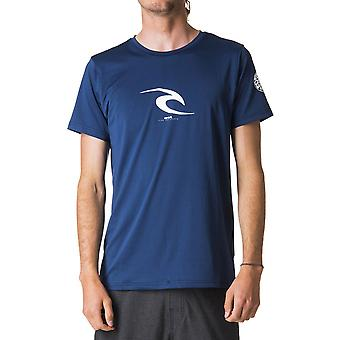 Rip Curl Icon Surf Tee in Navy