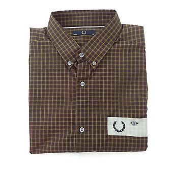 Camisa de manga curta da M3128-118 Fred Perry serviço masculino