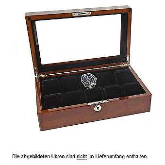 Augusta watch box for 10 watches Bubinga wood colors 5569.1046